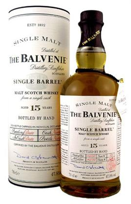 The Balvenie Scotch Single Malt 15 Year Single Barrel